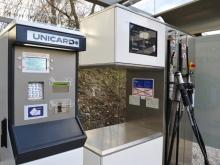 MJ SAT, public filling station (payment terminal Unidatz)
