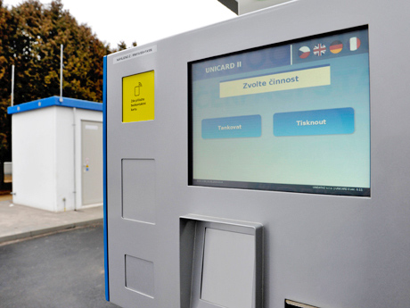 50th Jubilee Public CNG Station in the Czech Republic Starts