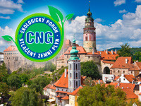 MOTOR JIKOV has opened a new CNG filling station in Český Krumlov