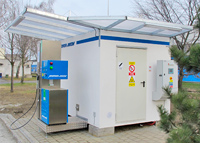 CNG station for Hayes Lemmerz Czech
