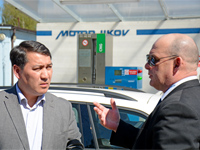 The Ambassador of Kazakhstan appreciates CNG technologies