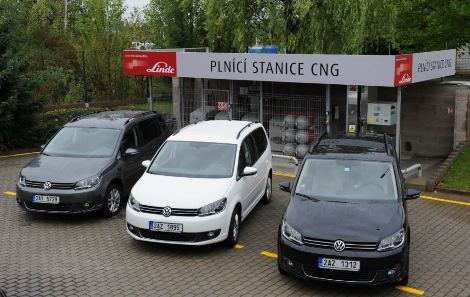 Linde MH purchased 11 CNG-driven Volkswagens