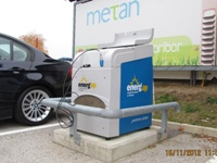 Successful installation of vehicle refuelling appliances in Slovenia