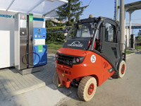The VOP CZ Company has been using its internal company MJ Compact Plus's CNG filling station