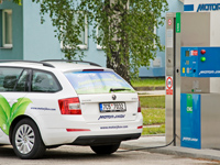 The Octavia G-Tec running on CNG is more ecological than the Tesla Model S electric car